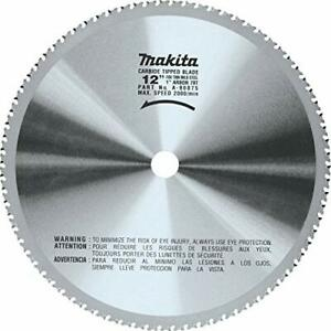 """Makita A-90875 12"""" 78T Dry Ferrous Metal Cutting Saw Blade with 1-Inch Arbor"""