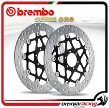 Coppia dischi Brembo Serie Oro flottanti Harley FXSTB 1450 Ice Bob 00>03