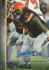 2015 Topps Danny Shelton Browns Auto Mint!