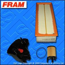 KIT Di Servizio Per PEUGEOT 207 1.6 HDI FRAM OLIO AIR FILTRI di carburante (2006-2009)