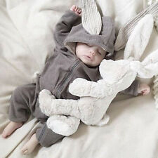 Newborn Infant Baby Boy Girl Rabbit Romper Jumpsuit Bodysuit Clothes Outfits USA