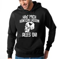 Hab' mich röntgen lassen Alles OK Spaß Fun Sprüche Comedy Kapuzenpullover Hoodie