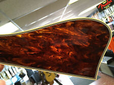 BOUND REAL CELLULOID TORTOISE PICKGUARD FOR GIBSON  L5 ARCHTOP GUITAR