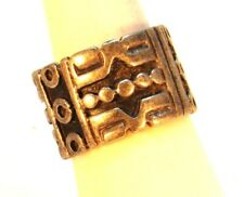 Vintage Sterling Silver Southwest AZTEC style ring (Size 6.5)