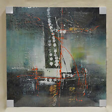 """Original Abstract Modern Oil Painting on Canvas 40""""X40"""" Home Deco Wall Art"""