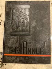 1949 Chester High School Annual Yearbook PA