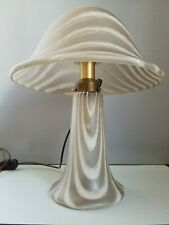 Peill & Putzler table lamp Tischlampe mushroom large Striped Glass satinated