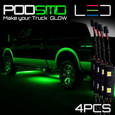 GREEN LED Underbody Glow Under Car Accent Rock Neon Light Kit Chevy Silverado