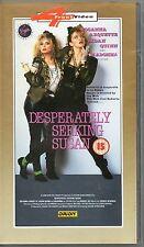 DESPERATELY SEEKING SUSAN STARRING MADONNA 4 FRONT VIDEO 1988