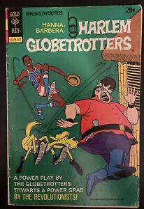 Vintage 1973 Hanna-Barbera HARLEM GLOBETROTTERS #6 Gold Key Comic Book