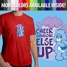 Care Bears Cheer Someone Else Up Grumpy Bear Cute Unisex Mens Tee Crew T-Shirt