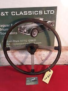 Triumph Tr4 4a Steering wheel original
