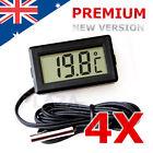 4x LCD Digital Temperature Thermometer Fridge Freezer Aquarium FISH TANK Meter