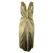 NWT Magaschoni Collection **BLACK COLOR* Silk Dress sz 4 $498