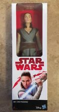 "Hasbro Star Wars Rey (jedi training) 12"" Collectable Action Figure - Hero Series"