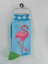 Foot Traffic Women's Casual Socks FLAMINGOS - Gift?