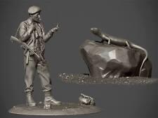 RP modelli principali ANDERS Lassen WW2 non verniciato 75 mm Figura KIT Ltd Edition ULTIMI