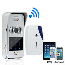Wireless Wifi Video Camera Phone Visual Intercom Door Bell Home Security EU Plug
