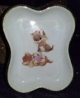 Designers Collection Cuddly Kittens Porcelain Trinket Dish