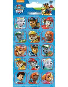 Paw Patrol Fun Foiled REWARD Stickers sheet Official Product 15 Stickers