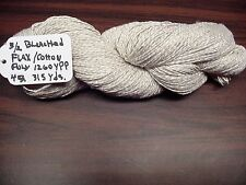 3/2 Bleached/Flax Cotton Poly 1260 Ypp. Natural 4 ounces 315 yards