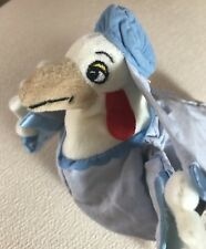 "Disney Store Mini Bean Bag 7"" Lady KLUCK Robin Hood stuffed Animal Gift Toy NWT"