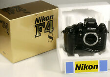 PRL) NIKON NITAL F4S F4 S FOTOCAMERA CAMERA BODY + MB-21 + ORIGINAL BOX EX 80%