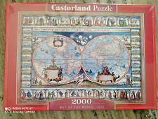 Puzzle 2000 Map of the World 1639 CASTORLAND