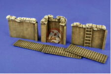 Verlinden 1:35 2667 Trench System II Sections W/ Observation MG Post