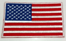UNITED STATES OF AMERICA USA US Flag Embroidered Sew/Iron On Patch Patches