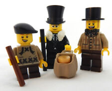 NEW LEGO SCROOGE, TINY TIM, & BOB CRATCHIT MINIFIG minifigure christmas carol