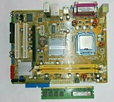 ASUS P5GC-MX, LGA775 Socket, Intel Motherboard E2200 Dual Core SLA8X CPU TESTED