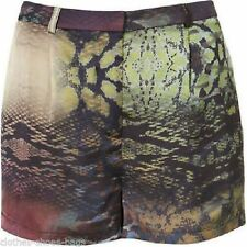 Topshop Polyester Mid Rise Shorts for Women