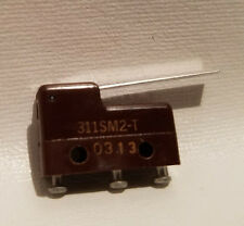 HONEYWELL MICRO SWITCH 311SM2-T 311SM2T Miniature Straight Lever Limit Switch 5A