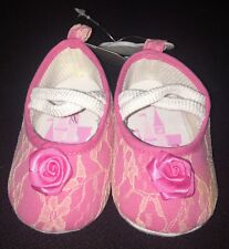 Disney Princess Baby Shoes Size 6-12 Months New