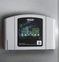 Nintendo 64 Tsumi to Batsu Sin and Punishment Japan N64 Veru Good