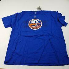 New York Islanders T-Shirt Men's Blue Crew Neck tavares 91 New Reebok 4XL top fa
