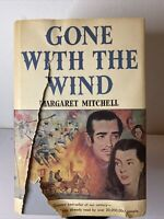 1936 - Gone with the Wind, 1st Book Club Edition, DJ HC - Acceptable
