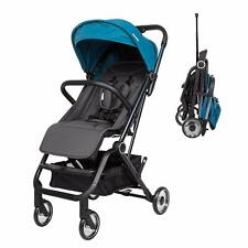 Infant Foldable Stroller Travel Carriage Toddler Pushchair Safety w/Stroage Blue