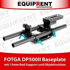 FOTGA dp500ii Rig basetta con 15mm Rod Support e obiettivo pilastro (eq467)
