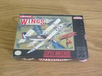 NEW FACTORY SEALED WINGS 2 ACES HIGH SUPER NINTENDO / SNES NTSC GAME