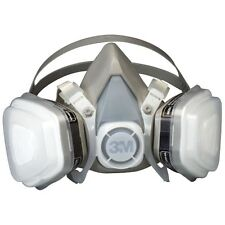 3M 07193 Dual Cartridge Respirator Mask, Large P95 Auto Painting Mask, 7193