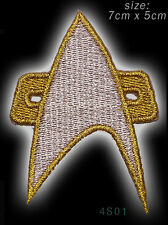 STAR TREK VOYAGER INSIGNIA Embroidered Iron-On / Sew-On Patch - #4S01