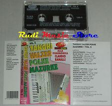 MC CLAUDIO RANALLI fisarmonica TANGHI VALZER POLKE LISCIO ITALIAN FOLK cd lp vhs