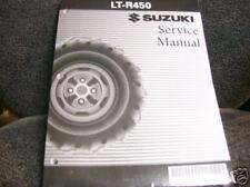 SUZUKI LTR450 450 QUAD RACER LTR 450R REPAIR, SERVICE SHOP MANUAL BOOK