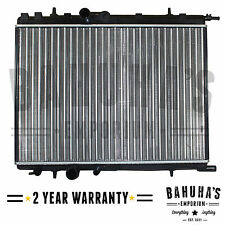 CITROEN C4/XSARA/PICASSO/BERLINGO MANUAL / AUTOMATIC RADIATOR 2 YEAR WARRANTY