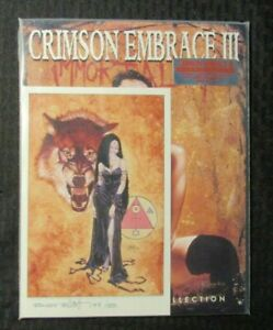1995 CRIMSON EMBRACE III Signed Randy Elliot #144/500 Limited Edition NM 9.4 SQP