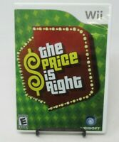THE PRICE IS RIGHT GAME FOR NINTENDO Wii, GAME DISC, CASE, MANUAL, UBISOFT