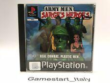 ARMY MEN SARGE'S HEROES - SONY PS1 - GIOCO USATO PERFETTAMENTE FUNZIONANTE - PAL