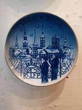 Plato la Jubileo 2007 - jardines de Tivoli 1908-2008 - Royal Copenhagen